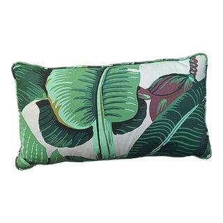 Custom Banana Leaf Lumbar Pillow For Sale