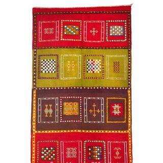 "Moroccan Carpet - 6'5"" x 3'6"""