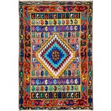 "Image of Vintage Persian Mahal Rug – Size: 2' 2"" X 3' 1"" For Sale"