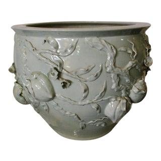 19th Century Celadon Fish Bowl For Sale