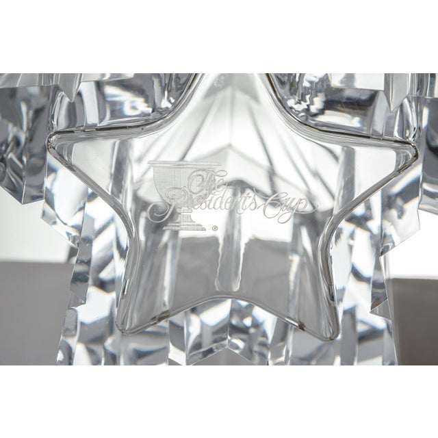 Mid-Century Modern Lucite/Acrylic Star Shape Ice Bucket - Image 8 of 11