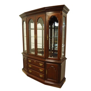 Sumter Cabinet Solid Cherry Chippendale Traditional China Cabinet Preview