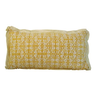 Vintage Fortuny Shiraz Pillow For Sale