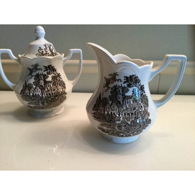 Royal Staffordshire Stratford Stage Brown Ironstone - Set of 3 - Image 5 of 6