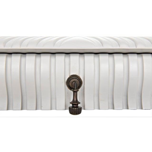 Portuguese Desk, Solid White For Sale - Image 11 of 13