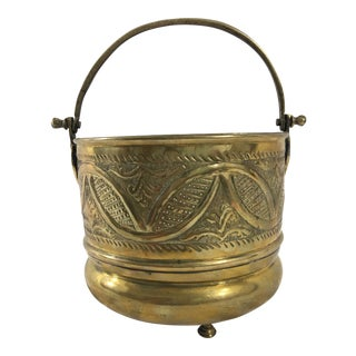 French 19th Century Ash Bucket