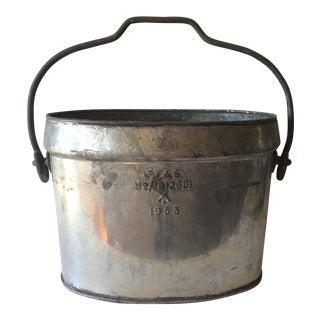 1953 British Army Bucket