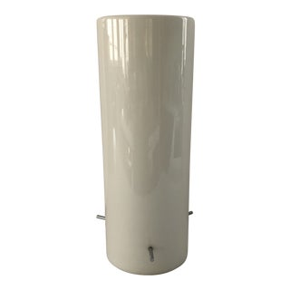 Cool Mid-Century Cylindrical Table Lamp For Sale