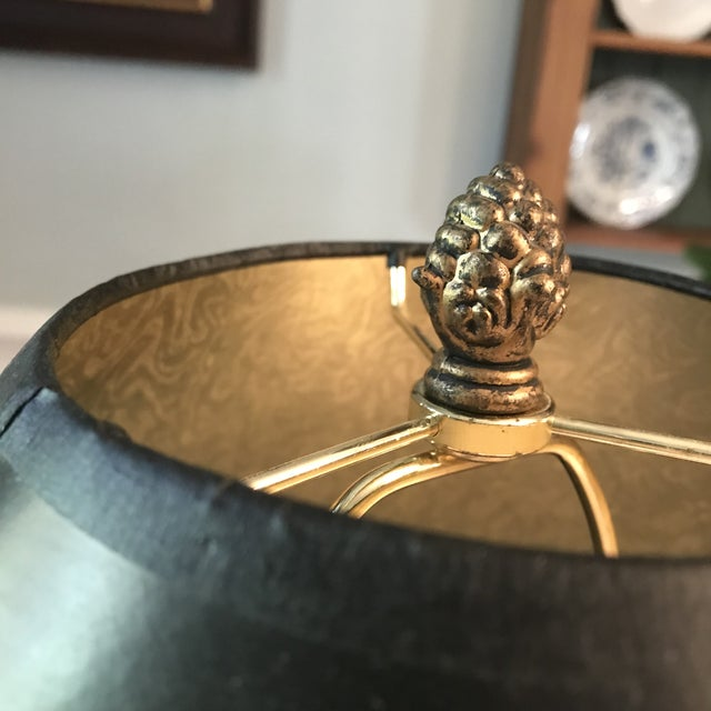 Vintage Fishing Creel Table Lamp For Sale - Image 4 of 8