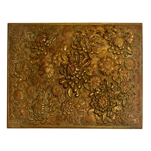 Antique Brass Box Made in France For Sale In Tampa - Image 6 of 10