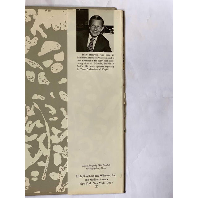 Vintage 1972 Billy Baldwin Decorates Book For Sale - Image 9 of 10