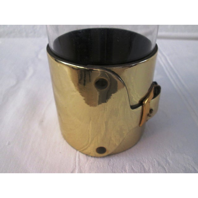 Gold Buckle Double Rocks Glasses - Set of 6 - Image 6 of 7
