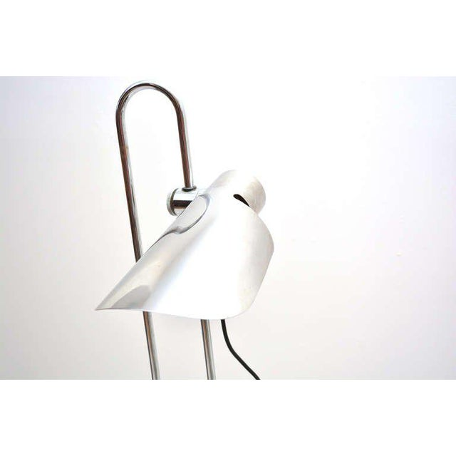 Gae Aulenti Mid-Century Modern Counterbalance Desk Lamp Attributed to Gae Aulenti For Sale - Image 4 of 10