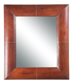 Image of Newly Made Leather Wall Mirrors