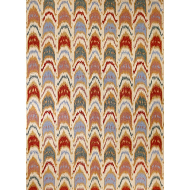 """Ikat Flatwoven Rug-9'11"""" X 13'7"""" For Sale In Phoenix - Image 6 of 6"""