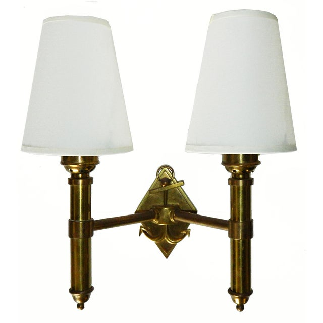 French Vintage Maison Lancel Sconces - Pair - Image 5 of 6