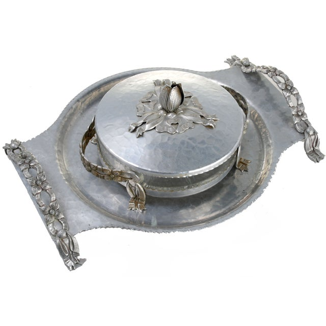 Rodney Kent Hand-Wrought Serving Dishes - Image 1 of 8