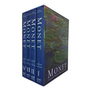1996 Monet: Catalog Raisonne Books - 4 Volume Set For Sale