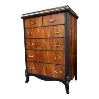 20th Century Traditional Bespoke Walnut Dresser For Sale