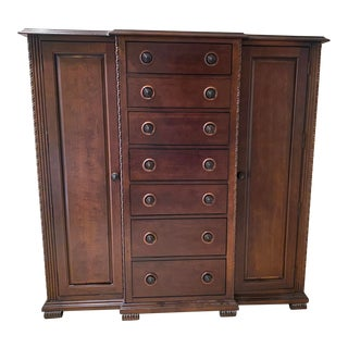 1990s Bernhardt Tall Chest of Drawers For Sale
