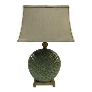 Uttermost Glazed Ceramic Lamp For Sale