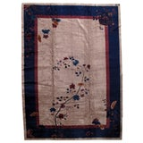 Image of 1920s Antique Art Deco Chinese Rug - 11′4″ × 15′9″ For Sale