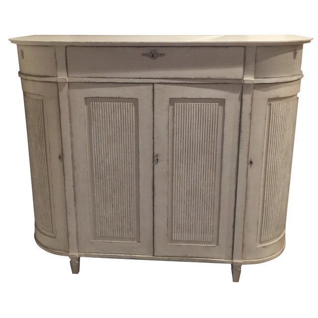 H.D. Buttercup Rounded Corner Buffet For Sale
