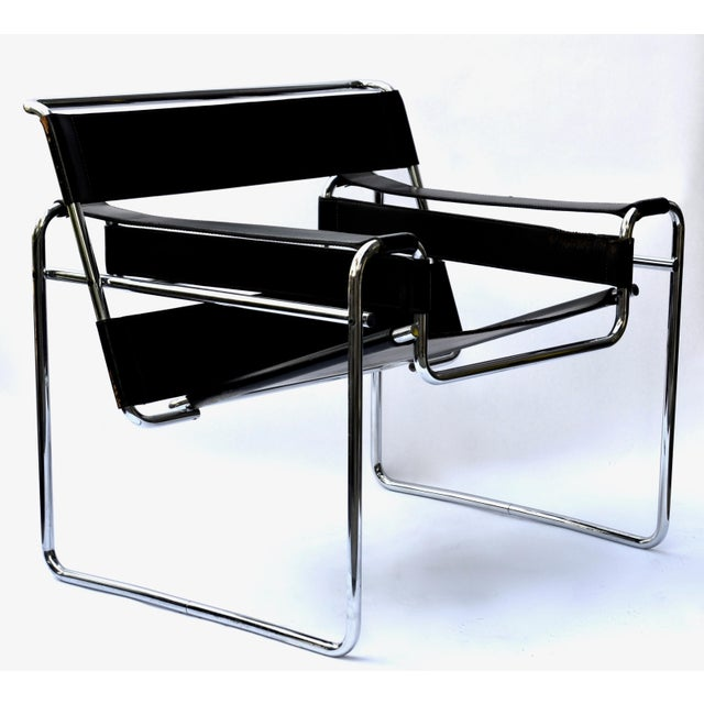 1970s Marcel Breuer Wassily Chair by Knoll For Sale - Image 12 of 12