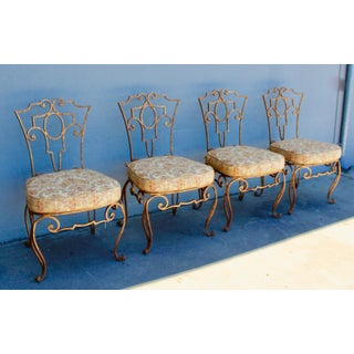 1950s French Style Iron Side Chairs - Set of 4 Preview