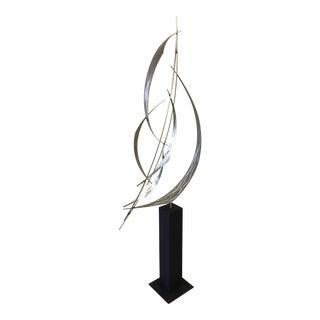 Cross Wind Stainless Steel Sculpture