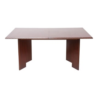 Frank Lloyd Wright Mahogany Extension Dining Table