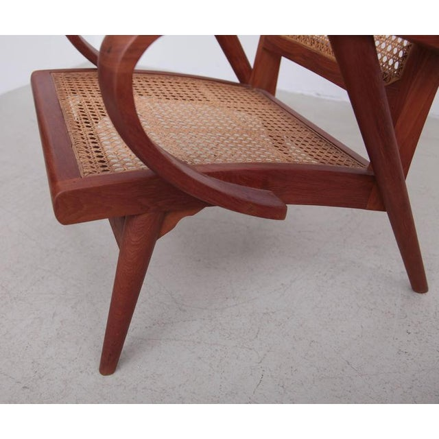 Pair of Danish Solid Teak Studio Lounge Chairs For Sale - Image 11 of 11