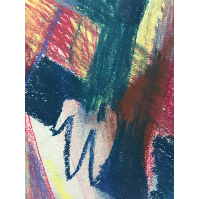 Pastel Abstract Figures in a Line Drawing - Image 6 of 7