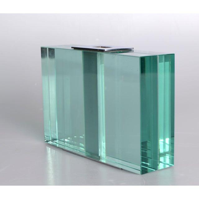 Art Glass Pair of 1950s Fontana Arte Art Glass Vases For Sale - Image 7 of 10