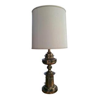 Stiffel Mid Century Brass Lamp For Sale