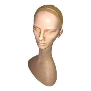 Vintage Mannequin Head For Sale