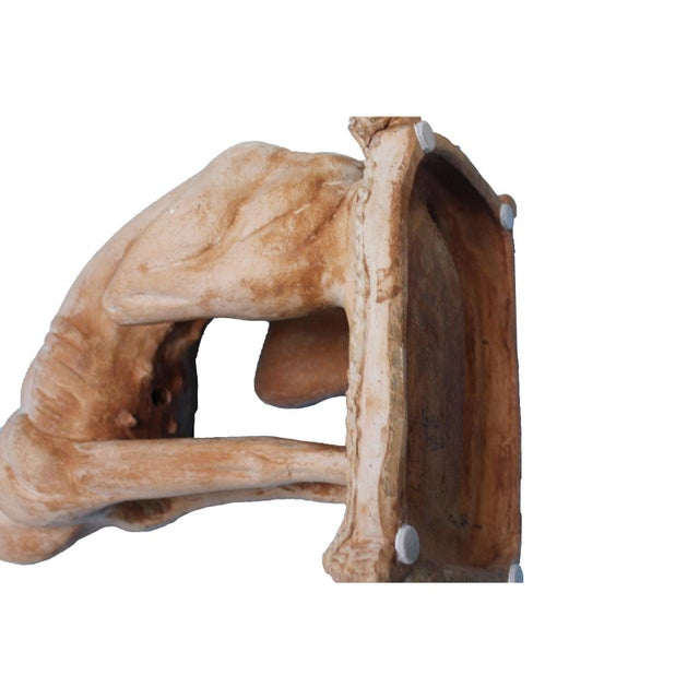 Orange Italian Hollywood Regency Traditional Whippet Greyhound Dog Statues - a Pair For Sale - Image 8 of 13