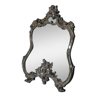 Vanity Sterling Mirror For Sale