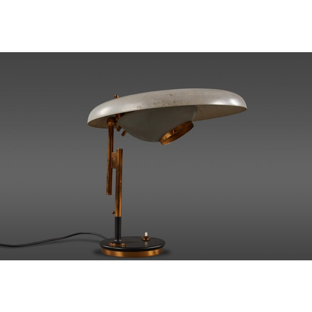 Adjustable Oscar Torlasco Table Lamp for Lumi For Sale - Image 11 of 11