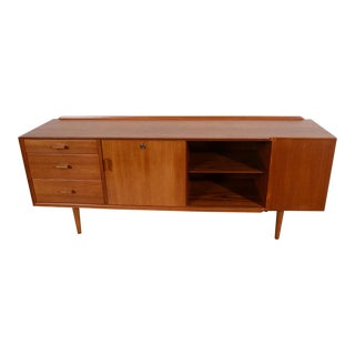 Arne Vodder for Sibast Danish Modern Model 211 Teak Credenza For Sale