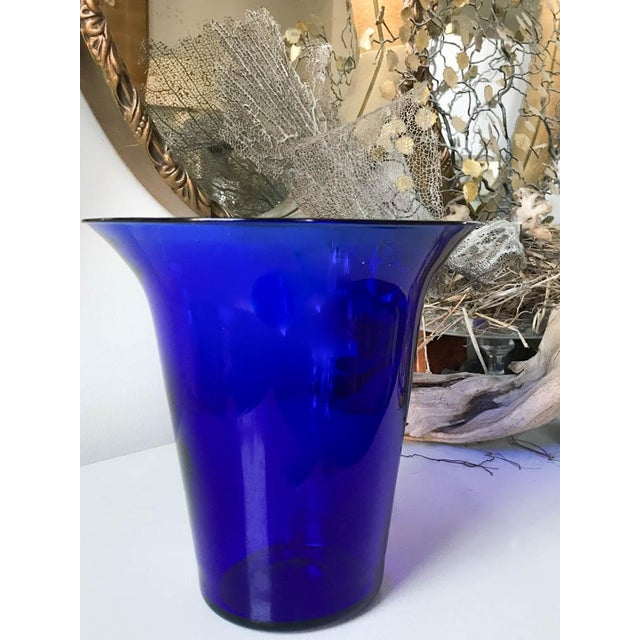 Vintage Cobalt Blue Vase Chairish