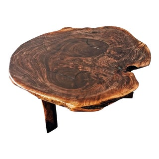 The Lovers Walnut Slab Table