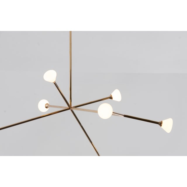 Super Nova Chandelier by McKenzie & Keim For Sale - Image 9 of 13
