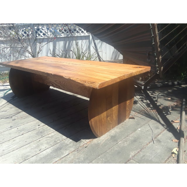 Rustic Original Wine Country Coffee Table For Sale - Image 4 of 5