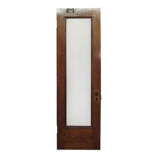 Glass Panel Brownstone Door