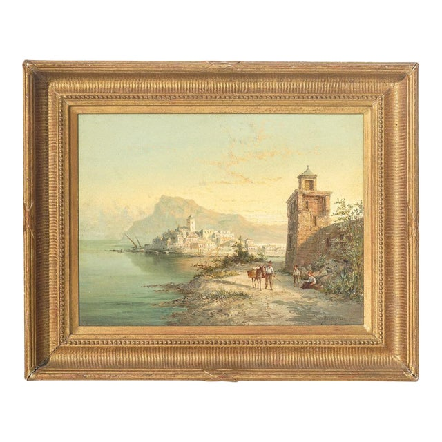 19th Century Signed Listed Artist Wm. R. Dommeson For Sale
