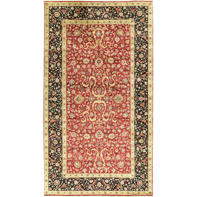 """Gallery Size Traditional Hand Woven Rug - 9'2"""" X 16'5"""" For Sale"""
