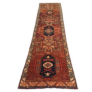 1960s Vintage Anatolian Rug - 2′7″ × 9′10″ For Sale