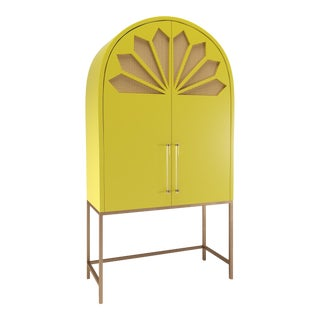 Calzada Secretary Desk - Citron For Sale