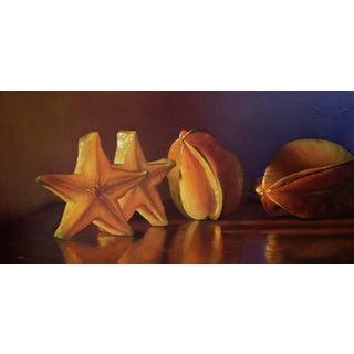 "Scott Kiche ""Starfruit"" Oil Painting For Sale"